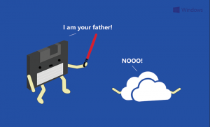"""3.5"""" disc: father of the Cloud"""