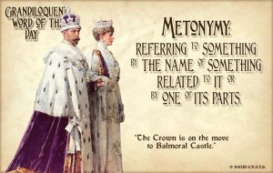 Metonymy: classic literary devices