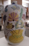 Large decorated pot